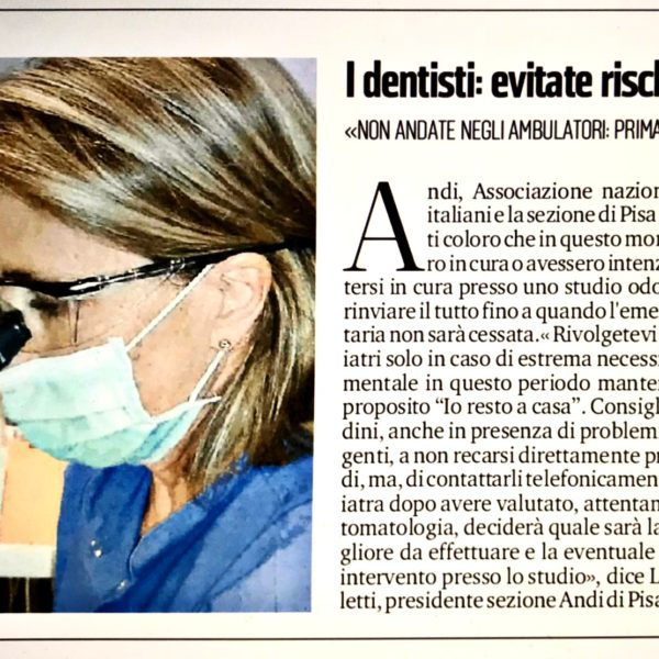 I dentisti: Evitare rischi inutili